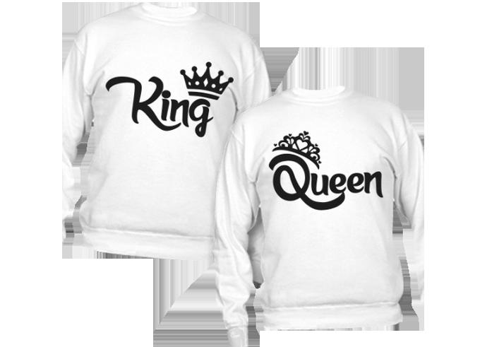 felpa king e queen al miglior prezzo